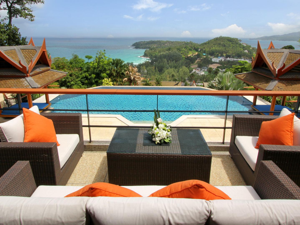 6 BEDROOM STUNNING SEA VIEW VILLA IN SURIN BEACH – SUR05