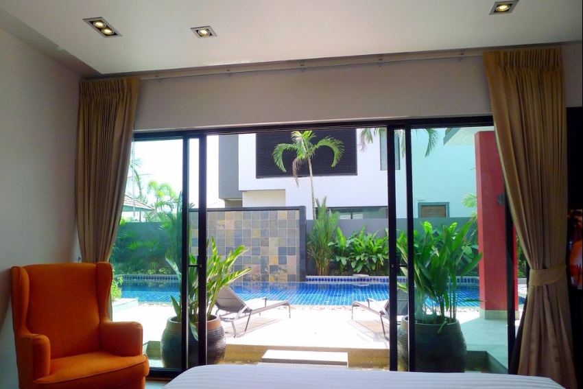 3 Bedroom Modern Pool Villa for Rent in Bang Tao – ban64